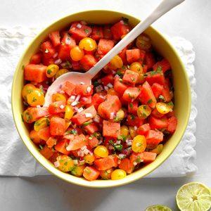 Watermelon Tomato Salad