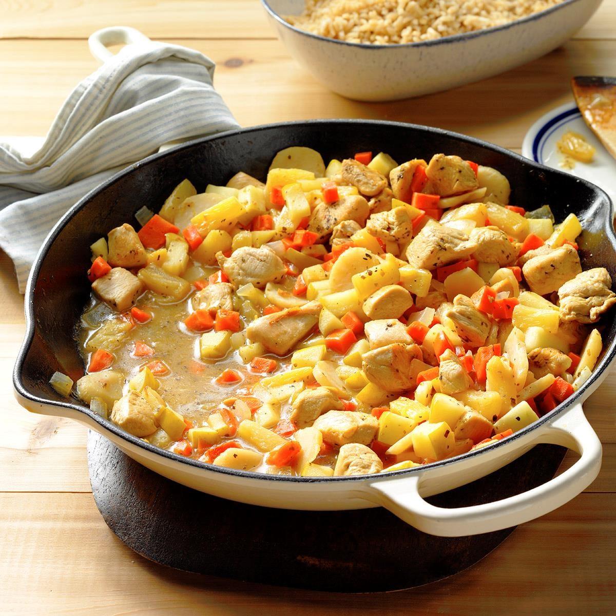 Weeknight Chicken Chop Suey