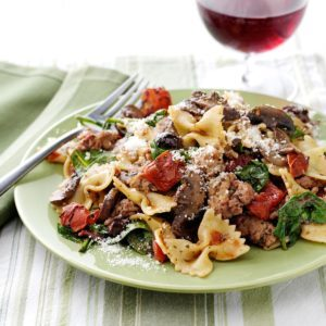 Weeknight Pasta Supper