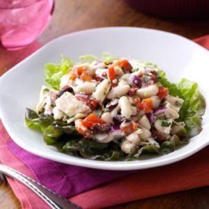White Bean Tuna Salad with Vinaigrette