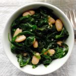 White Beans and Spinach