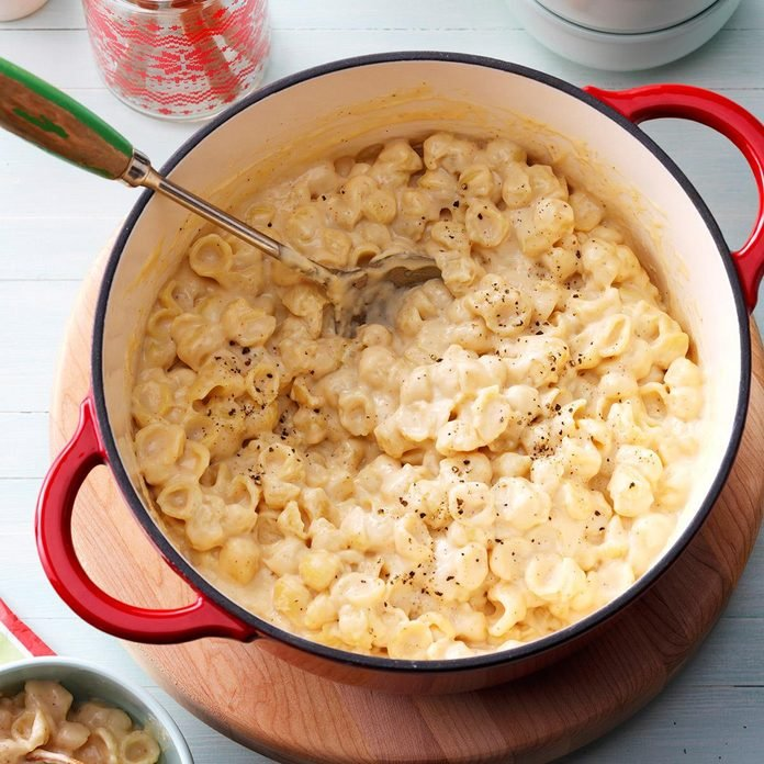 Tuesday's Dinner: White Cheddar Mac & Cheese