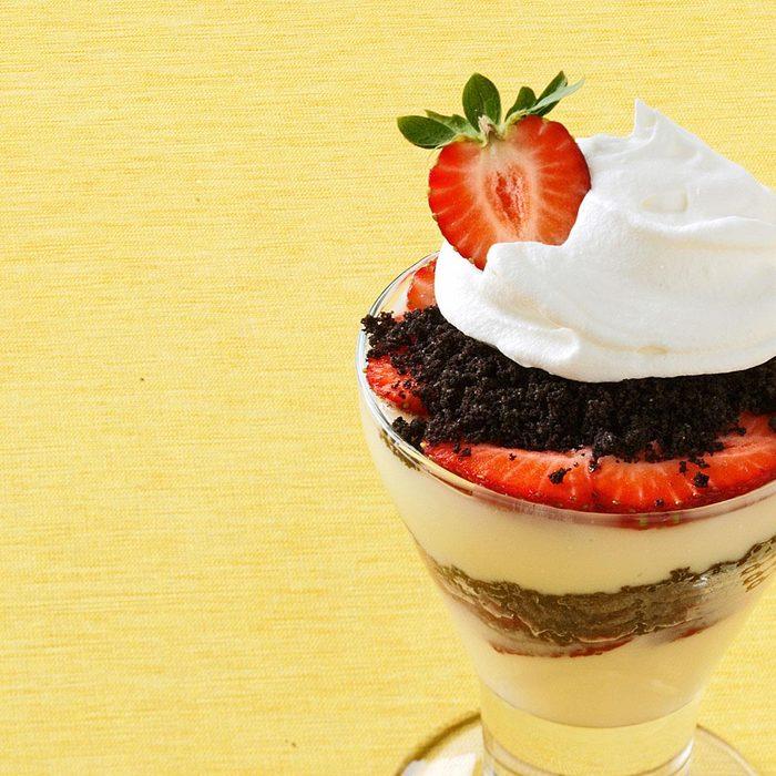 White Chocolate Berry Parfaits