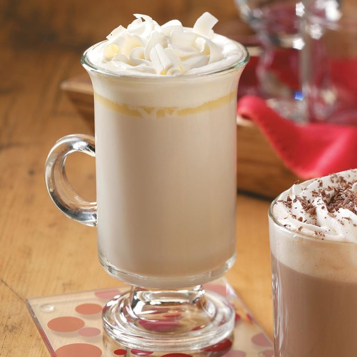 White Chocolate Brandy Alexander