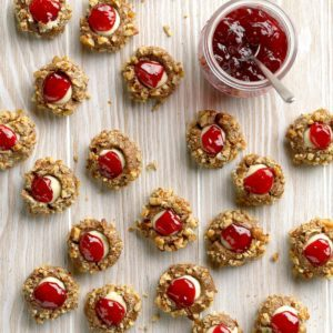 White Chocolate Raspberry Thumbprints