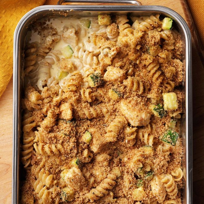 Whole Wheat Pasta Bake