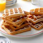 Whole Wheat Pecan Waffles