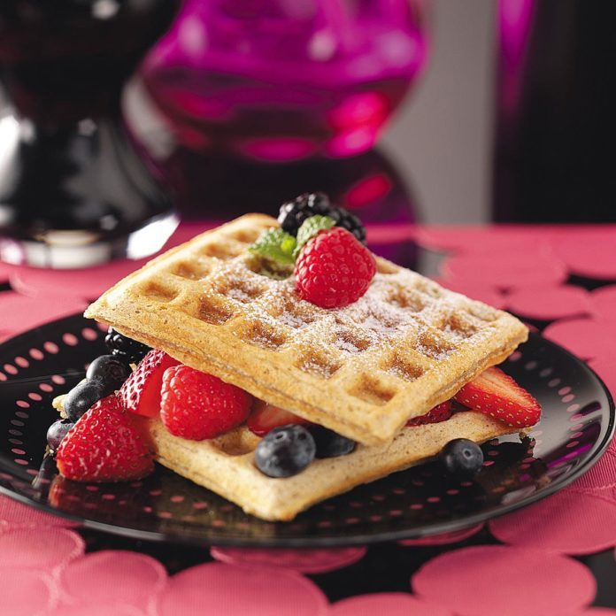 Wholesome Whole-Grain Waffles