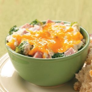 Wild Rice and Ham Casserole