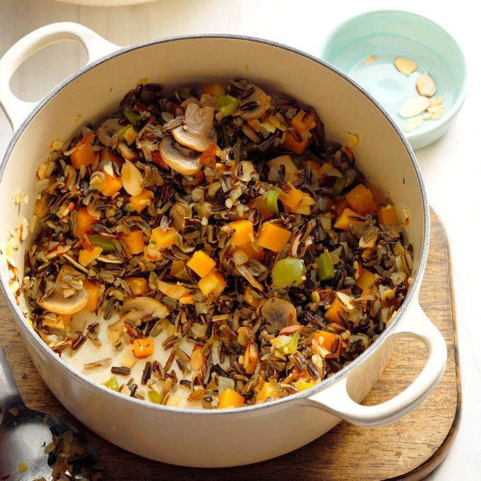 Wild Rice and Squash Pilaf