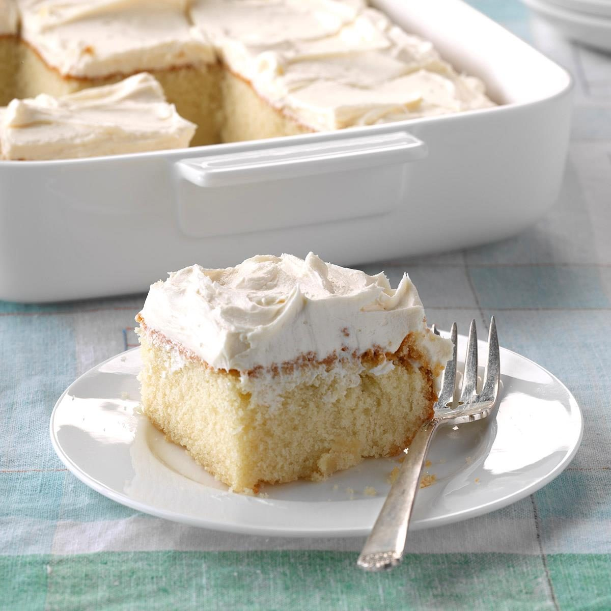 Yellow Cake With Buttercream Frosting Recipe