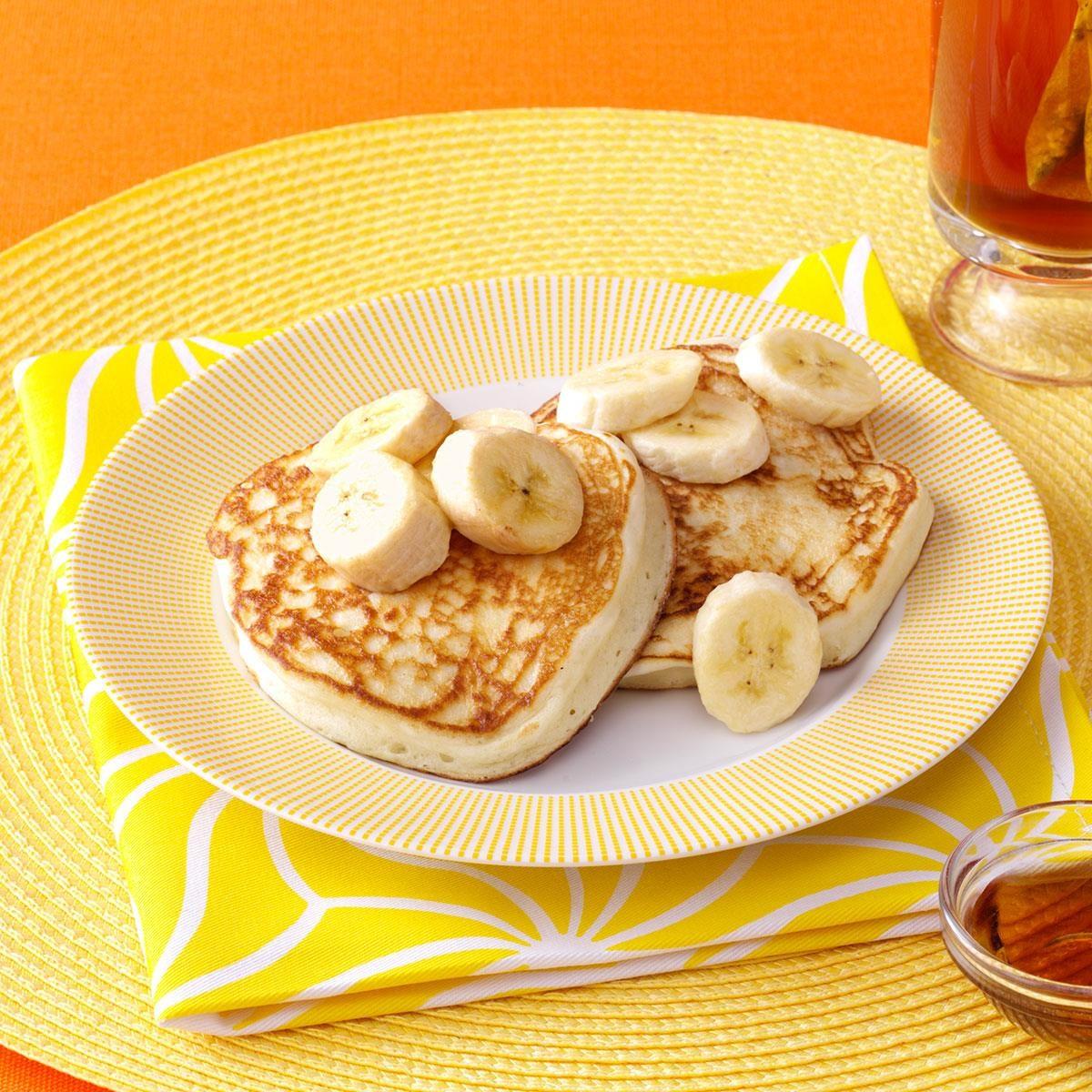 Yogurt Pancakes Recipe | Taste of Home