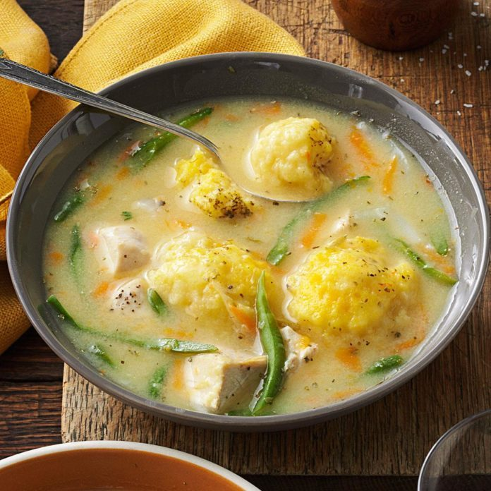 Yummy Chicken and Dumpling Soup