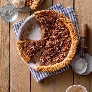 Yummy Texas Pecan Pie