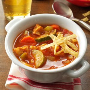 Zesty Chicken Soup
