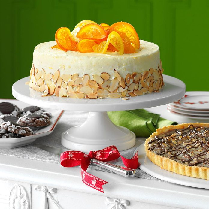 Zesty Citrus Cake