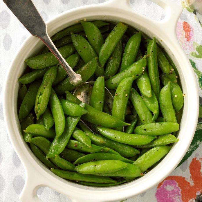 Zesty Sugar Snap Peas