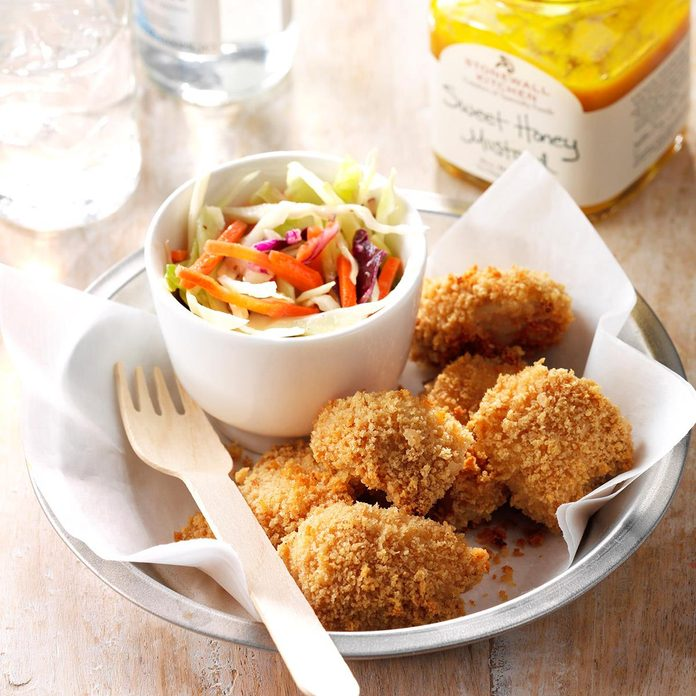 Zingy Baked Chicken Nuggets