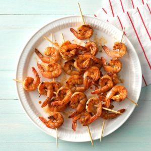 Zippy Shrimp Skewers