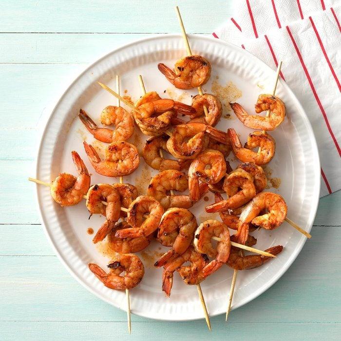 Zippy Shrimp Skewers