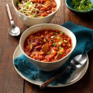 Zippy Vegetarian Chili