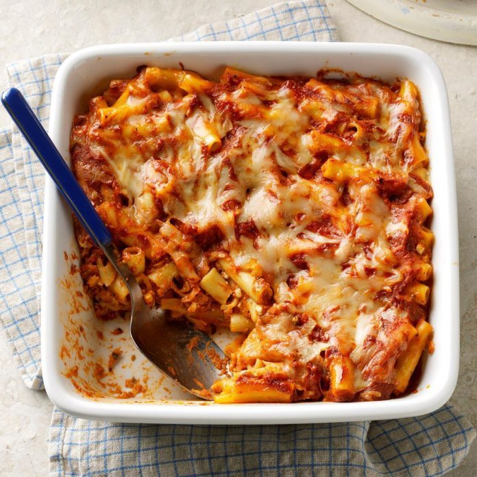Day 31: Ziti Bake