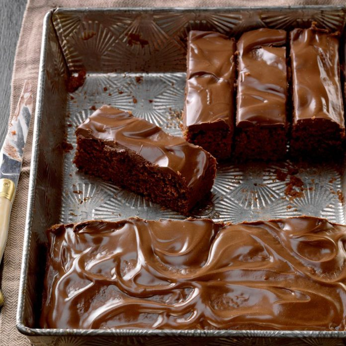 New Hampshire: Zucchini Brownies