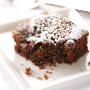 Zucchini Chip Chocolate Cake