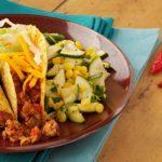 Zucchini & Corn with Cilantro