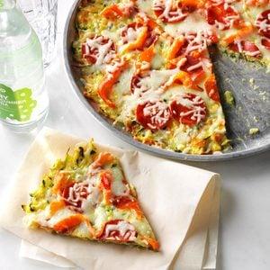 Zucchini-Crusted Pizza