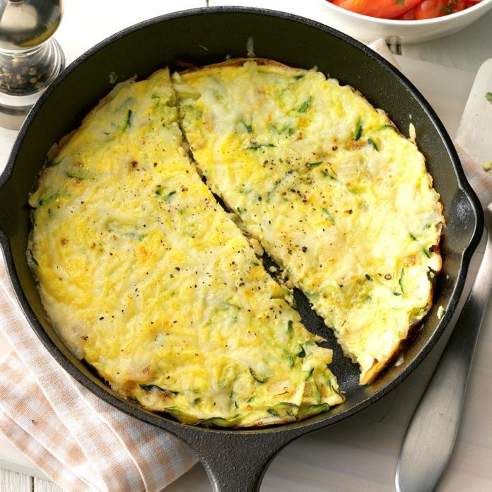 Thursday's Breakfast: Zucchini Frittata