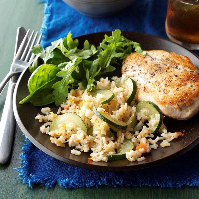 Zucchini Rice Pilaf