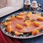 Ham with Apricots