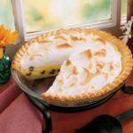 Raisin Custard Pie