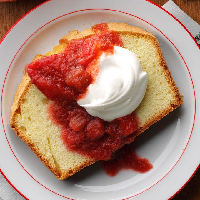 Slow-Cooked Strawberry Rhubarb Sauce
