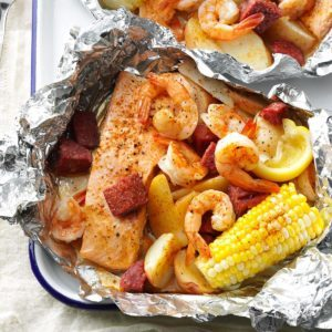 Cajun Boil on the Grill