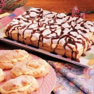 Eclair Torte