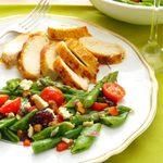 Asparagus & Snap Pea Salad