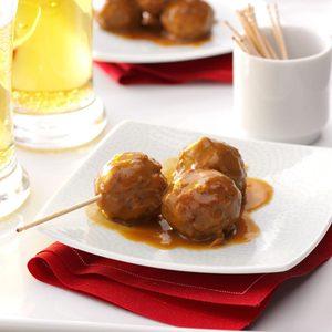 Creamy Cranberry Meatballs