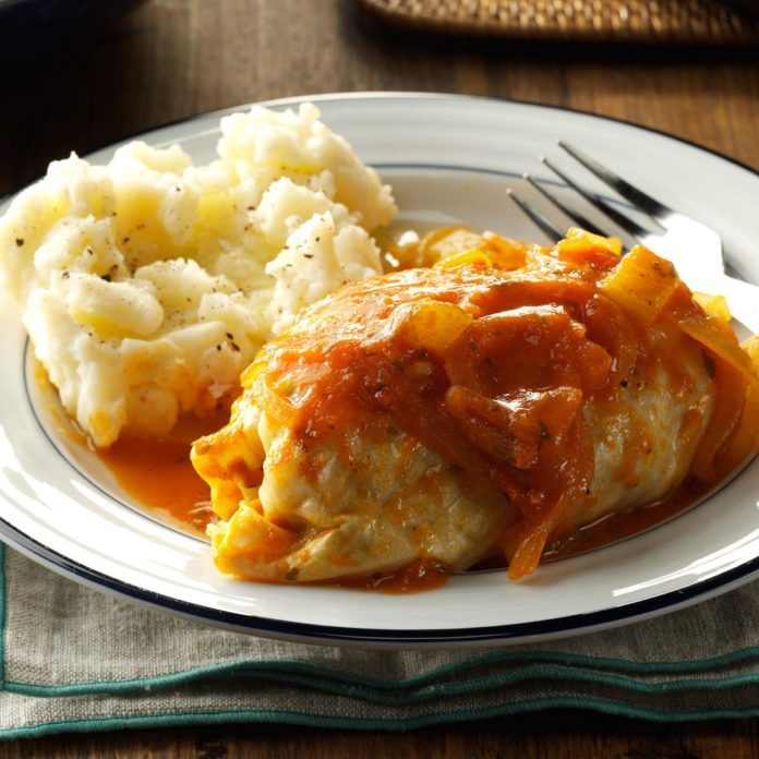 Make-Ahead Cabbage Rolls