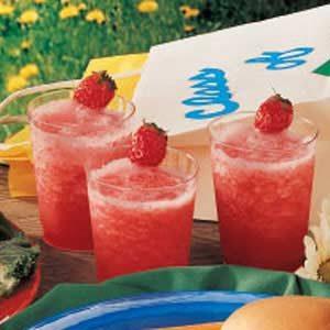 Senior Strawberry Slush