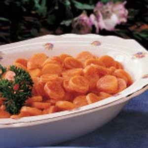 Tangy Carrot Coins