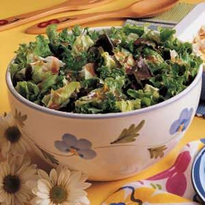 Lettuce with French Dressing