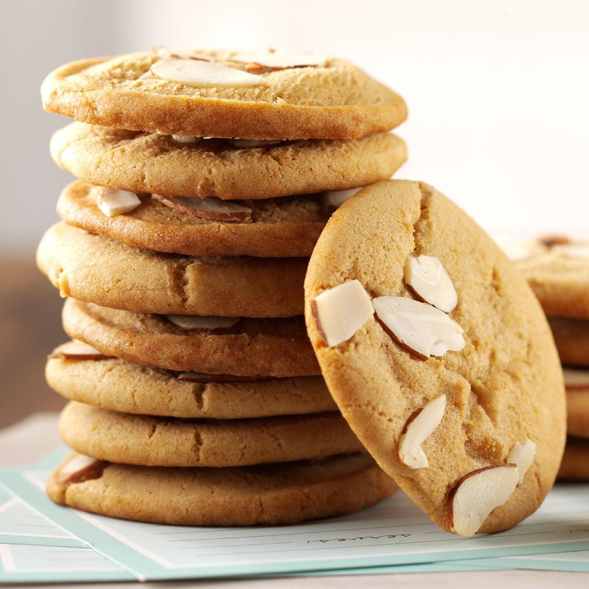Chewy Almond Cookies Recipe How To Make It Taste Of Home