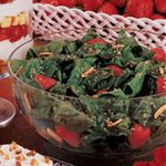 Special Strawberry Spinach Salad