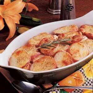 Parmesan Potato Rounds Bake
