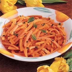 Buttery Mint Carrots