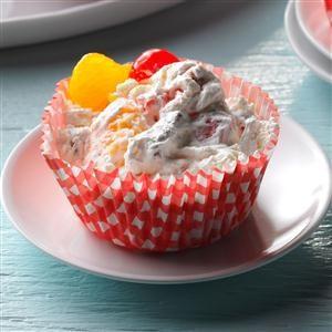 Creamy Frozen Fruit Cups
