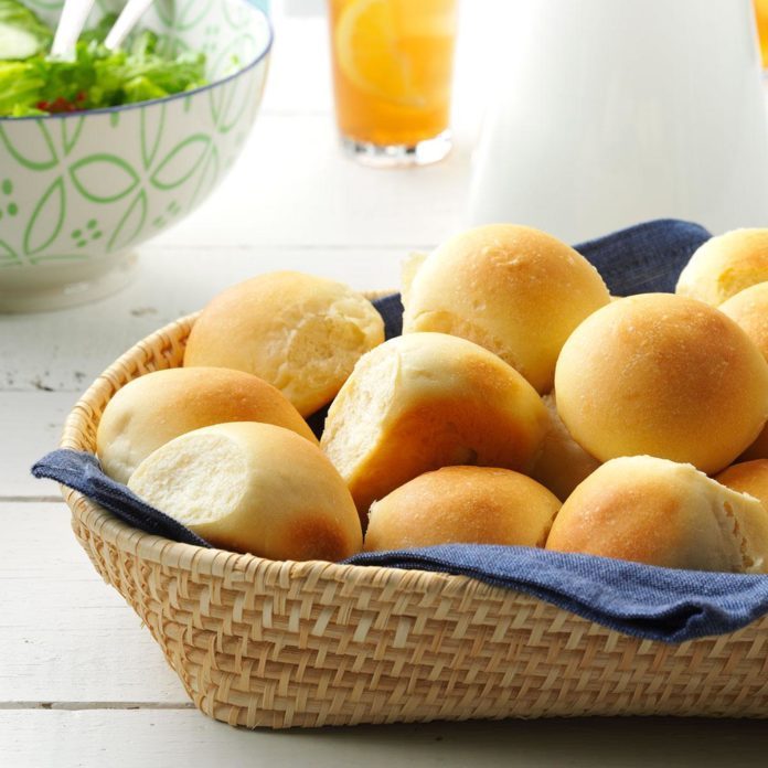 New Mexico: Potluck Pan Rolls