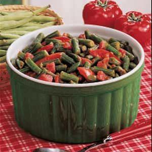 Salsa Green Beans